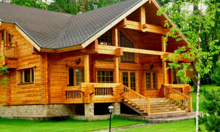 Construcciones de madera ecológica