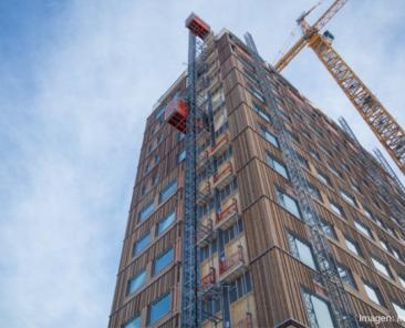En qué consiste el mass timber o construcción con masa de madera
