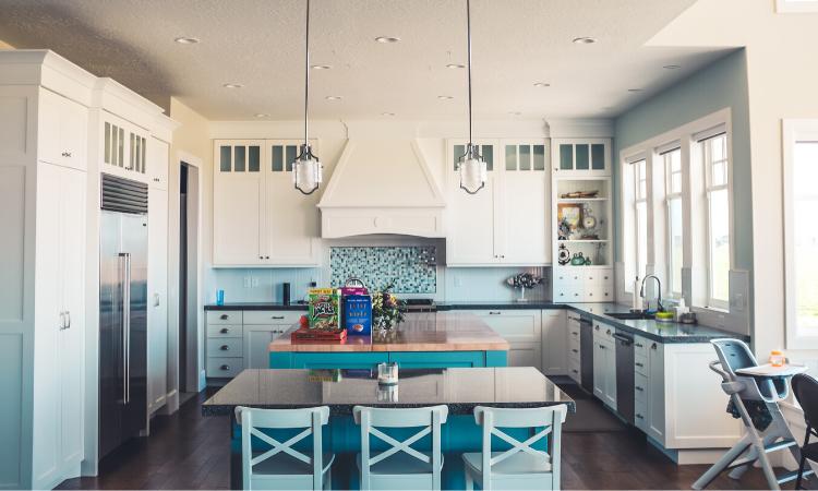 Decoración cocinas: elegir el color.