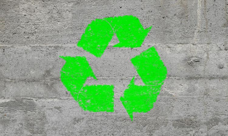 hormigón reciclado